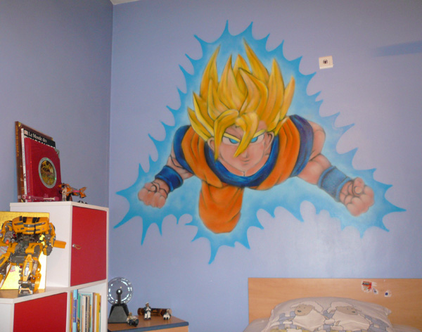 Decoration chambre dragon ball z 141607 la for Decoration murale dragon ball z